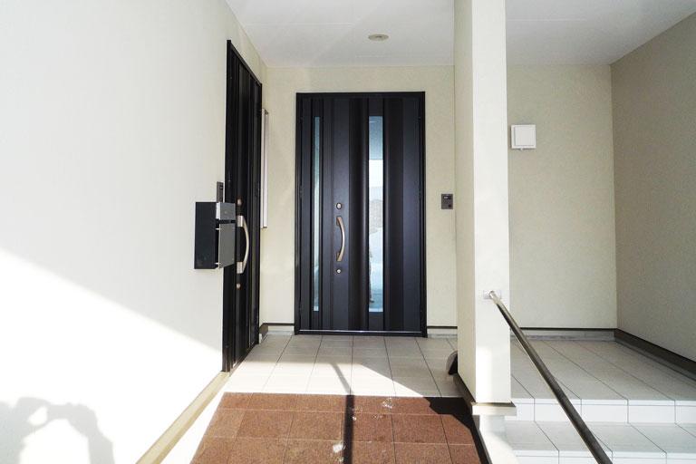 風除ドア増築 リフォーム前