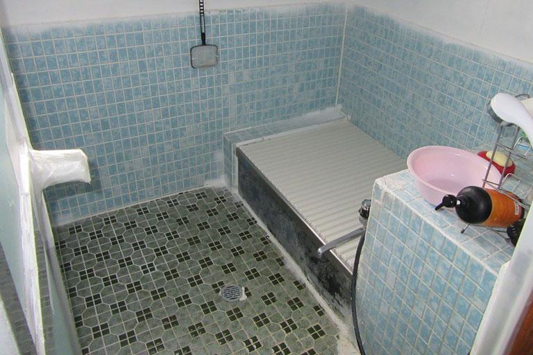 浴室工事 リフォーム前