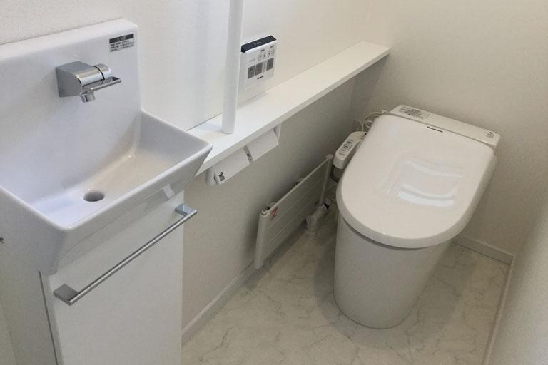 WC工事 リフォーム後